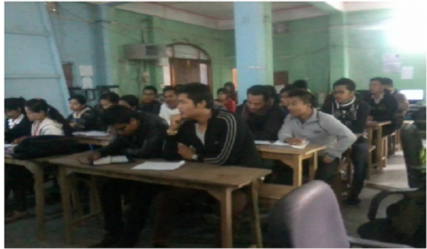 OBC students participating in the Free Training Programme under NIELIT